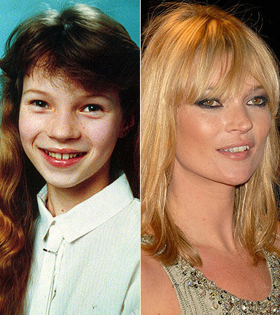 Kate Moss-then and now