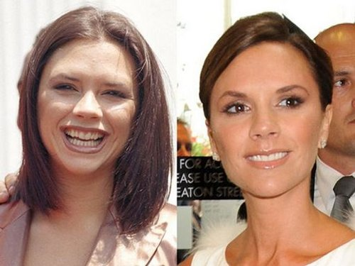 Victoria-Beckham now and then