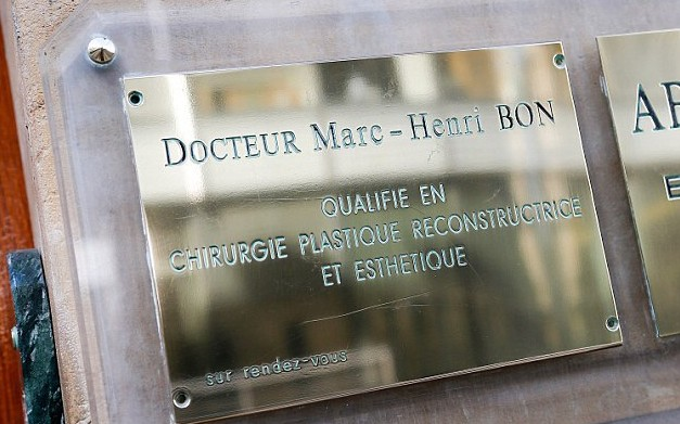 Plastic surgeon Dr Marc-Henri Bon has his office in the building where Gisele Bundchen was seen on June 30 first and for the alleged double operation on July 15