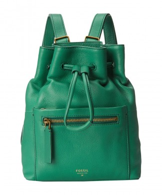 Fossil Vickery Drawstring Backpack Malachite $250