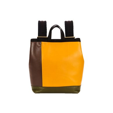 Marni color-block leather parachute backpack, $1,640; neimanmarcus