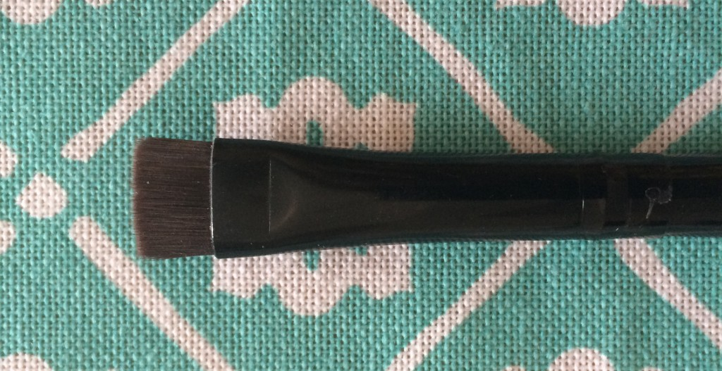 Brow Brush- This brush it's pretty important if you want to add a bit of plushness to your brows. If used with the perfect brow powder colour- two shades lighter than you haircolour- will result in a blended and natural effect. The angle allows you to get even the thinnest areas of your brows.