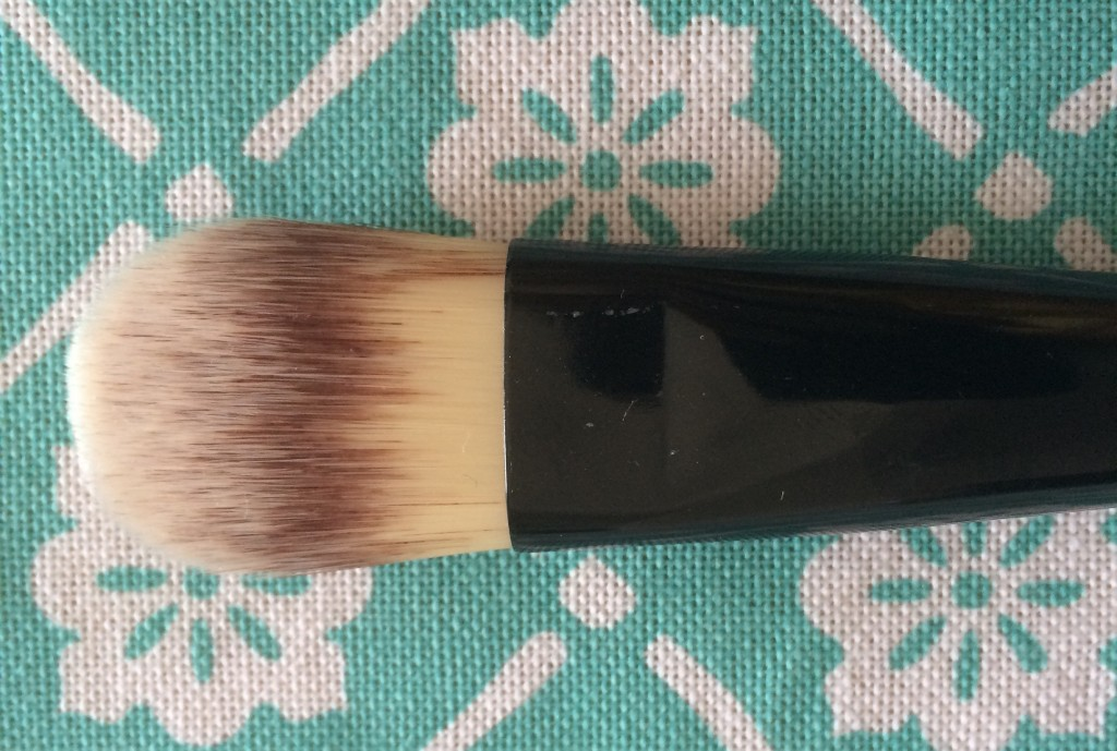 Foundation Brush- This brush is used to apply creams, serums or any kind of liquid foundation to your face for a smooth, poreless finish.