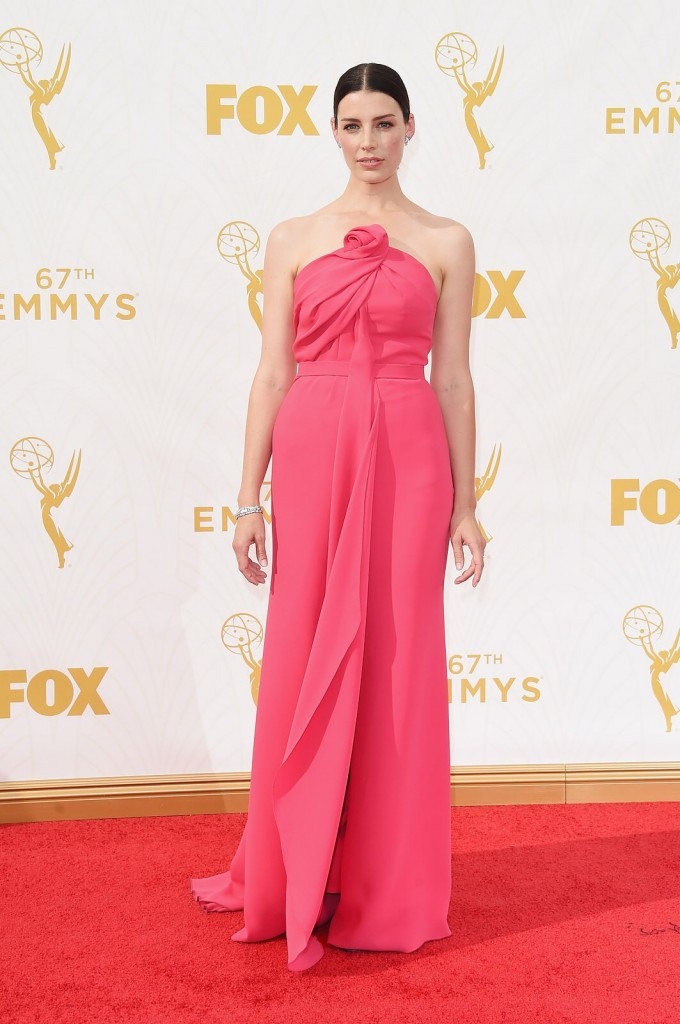 Jessica Paré in Fred Leighton jewelry