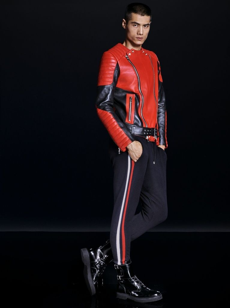 H&M x Balmain collection designed by Olivier Rousteing. The collection hits stores November 5.