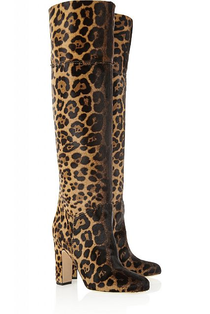 BRIAN ATWOOD over the knee boots.