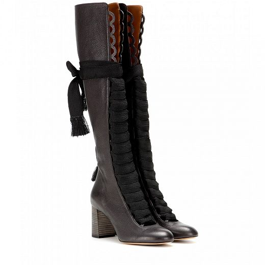 CHLOÉ over the knee boots.