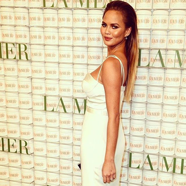 Chrissy Teigen La Mer celebration