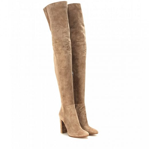 GIANVITO ROSSI over the knee boots.