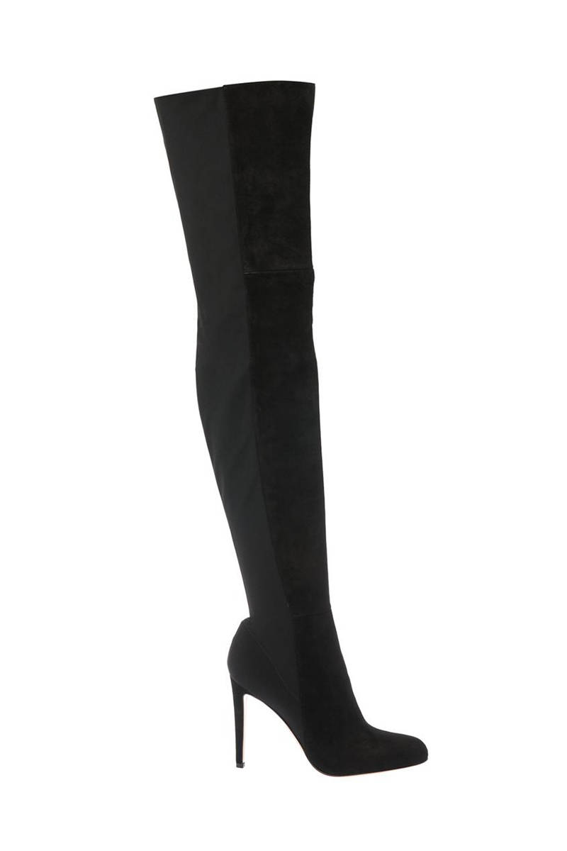 Gianvito Rossi Osaka Suede Over-the-Knee Boots ,893; matchesfashion.com