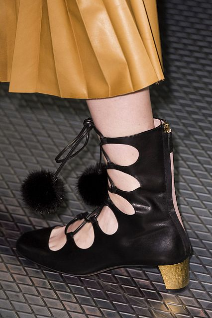 Gucci boots fall-winter 2016