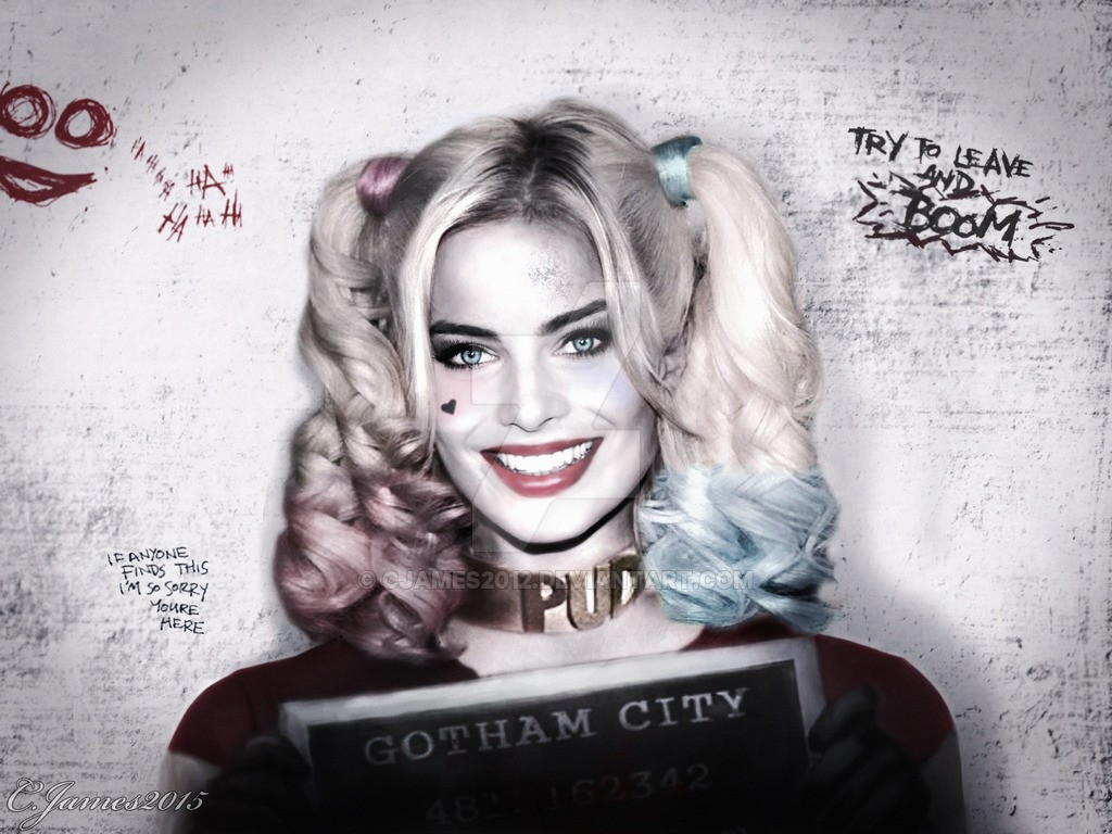 Harley Quinn played by Margot Robbie