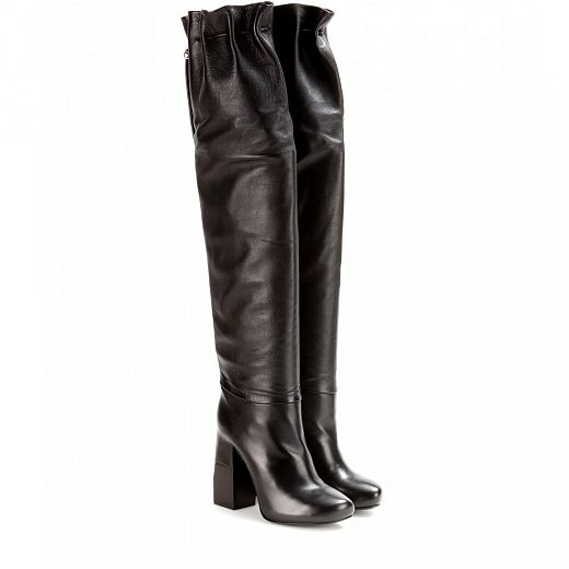 LANVIN over the knee boots.
