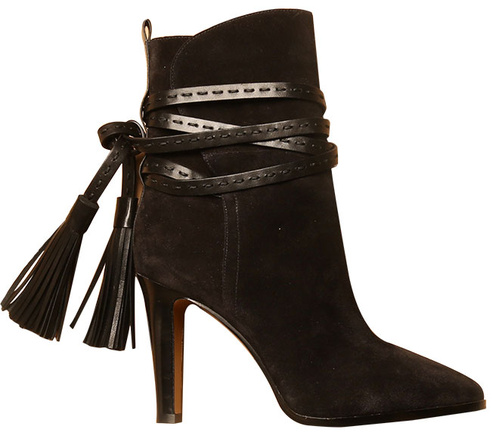 Michael Kors Suede boots with leather tassels €495