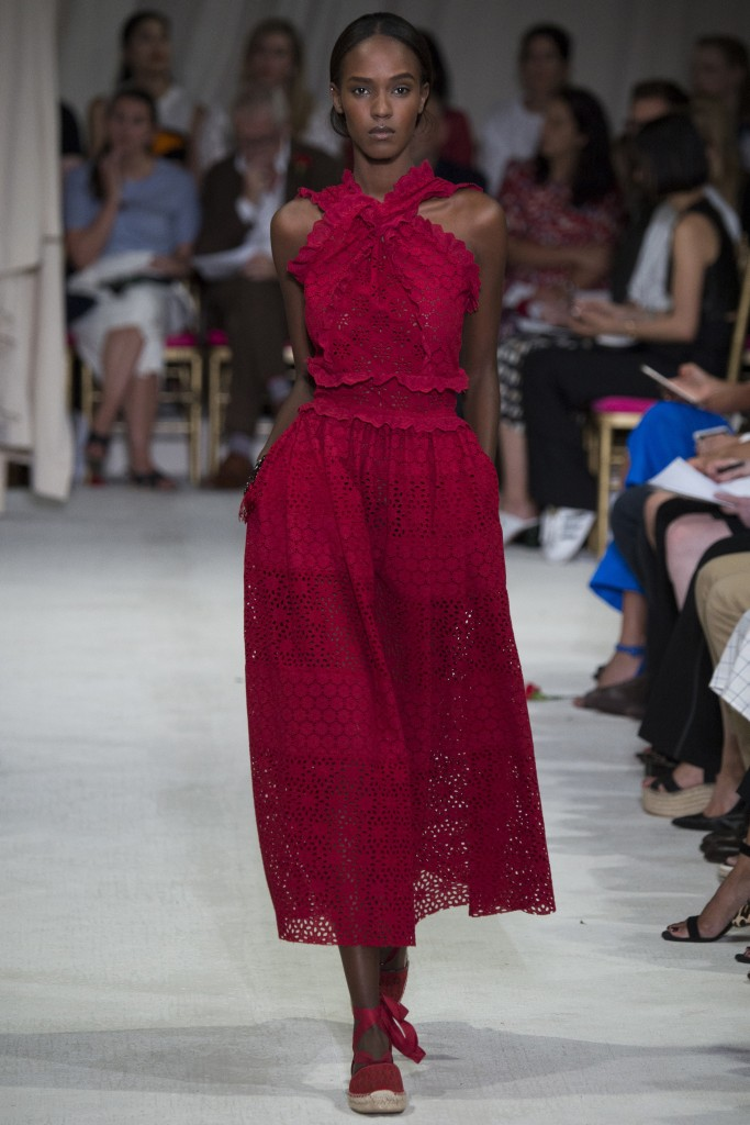 Oscar de la Renta Spring  ready-to-wear