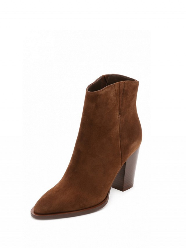 Vince Erving Suede Booties 5