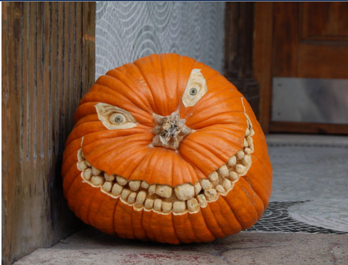 spooky pumpkin carving ideas picture