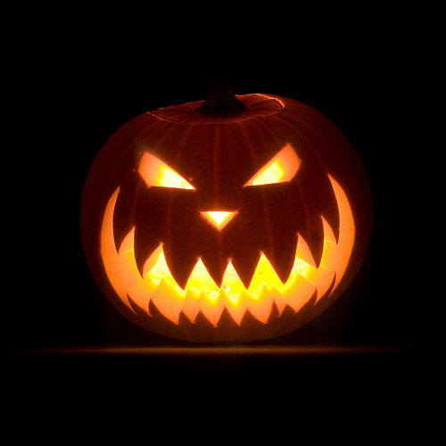 Halloween scary pumpkin carving idea