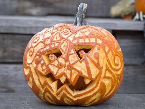 creative pumpkin carving