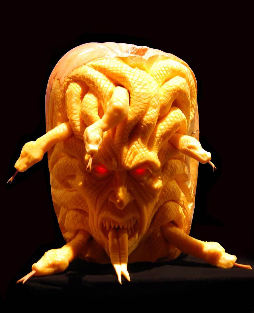 Horror Movie Pumpkin Carving for Halloween