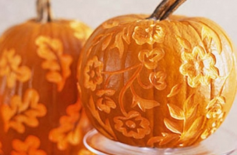 beautiful halloween pumpkin carving-home decor