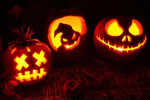 Evil Pumpkin Carvings For