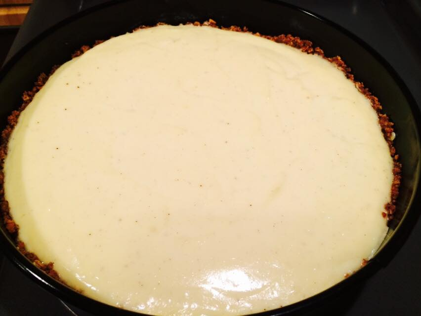smooth cream cheese for the cheesecake