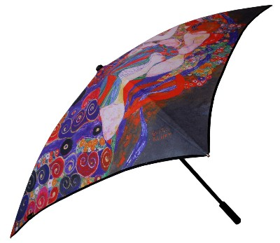 Klimt The virgin Artistic Square Umbrella