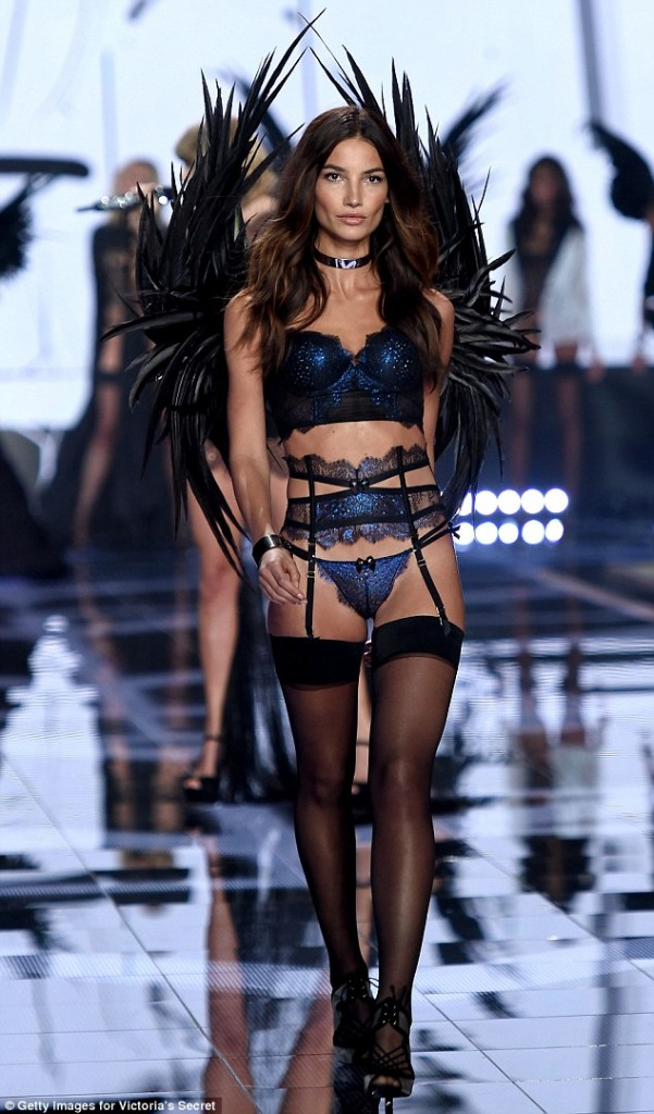 Lily Aldridge Victoria's Secret Angel 2015