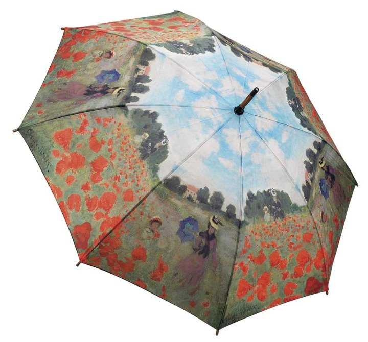 Monet Poppy Field Umbrella by Galleria
