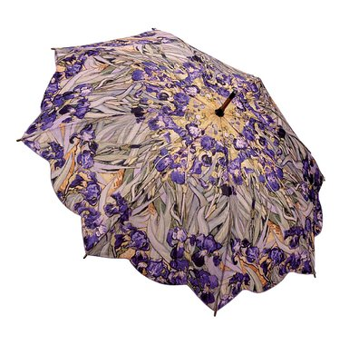 Van Gogh Irises Umbrella