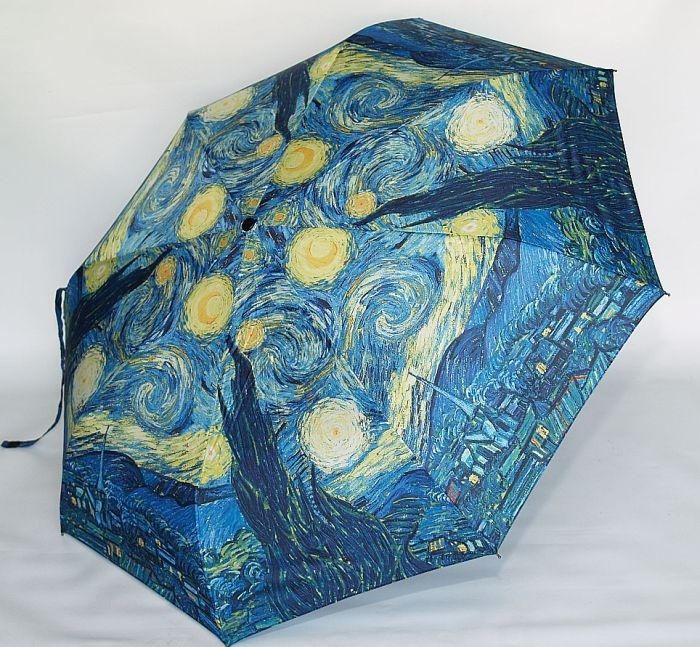 Van Gogh Starry Night Art Umbrella