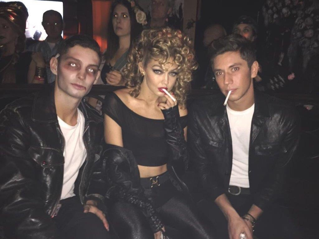Gigi Hadid and Samuel Krost on Halloween