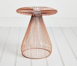Adairs Wired Copper Table