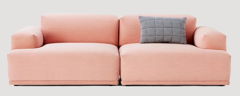 Muuto Sofa connect_rose_steelcuttrio515_1