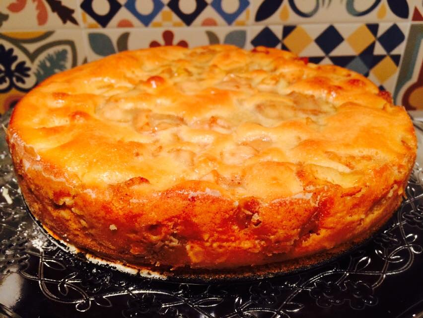 Apple Cinnamon Cake out of the oven